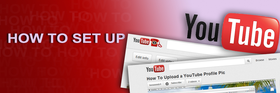 YouTube How to upload profile pic 960x320